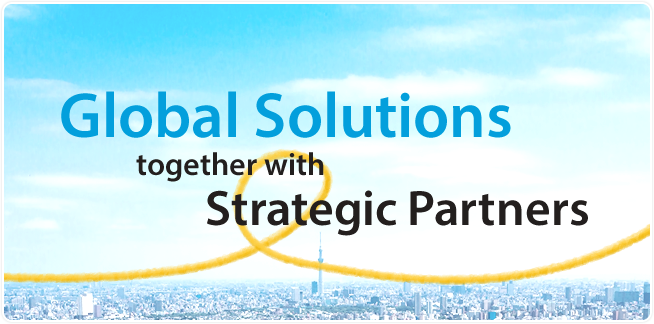 Global Solutions together with Strategic Partners